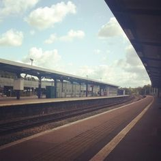 Bristol Parkway Station. On my way to Cardiff! #bristol #train #trainstation