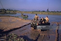 'Crabs' of the French Foreign Legion on duty in the former Indochina.