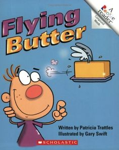 Flying Butter (Rookie Reader: Compound Words) by Patricia Trattles