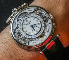 """Bovet Amadeo Virtuoso VII Retrograde Perpetual Calendar Watch Review - by Ariel Adams - read more about its many facets and functions, see the video and full photo gallery - on aBlogtoWatch.com - """"The newest 'Virtuoso' model from Bovet for 2015 is this 'Bovet Amadeo Fleurier Virtuoso VII Retrograde Perpetual Calendar' watch that, in addition to our review, is being officially launched today. I have had the opportunity to wear this model for a while prior to launch and have some interesting…"""