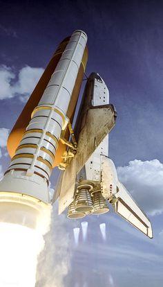 humanoidhistory:February 2008 — The Space Shuttle Atlantis.