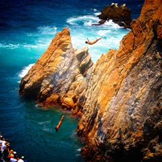 Go cliff diving!