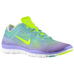 Nike Free 5.0 TR Fit 4 - Women's - Training - Shoes - Glacier Ice/Atomic Volt/Night Factor/White
