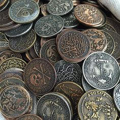 nyone have any sage advice on how to easily clean oodles of gaming coins. Two objective Nathan Drake, Larp, Pirate Treasure, Treasure Chest, Chaotic Neutral, Pirate Life, Fantasy Setting, Jolly Roger, High Fantasy