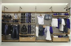 We Concept store Nijmegen - by Wonderwall Visual Merchandising, Clothing Store Interior, Us Store, Floor Layout, Wonderwall, Design Furniture, Retail Design, Stores, Store Design