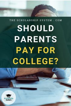 Before you begin putting your financial security on the back burner, here are some thoughts on whether parents should pay for college. High School Writing Prompts, College Admission Essay, College Planning, Parenting Teenagers, Money Saving Tips, Parents, Student, Thoughts