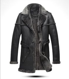 d6bee5e2f Winter Sheepskin Leisure Genuine Leather Fur Men s Jacket Men s Jacket