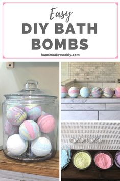 Who doesn't love a nice hot bath once in a while? These DIY Bath Bombs are GREAT to gift for Mothers Day, birthdays and more!