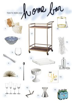 When I moved to my first-ever solo apartment a little over a year ago, I resolved to obtain my ideal bar cart: one that was affordable, but also well-designed with a classic style. Craigslist, thri...