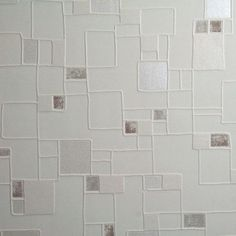"Found it at AllModern - Contour Spa Pastel 33' x 20.5"" Geometric 3D Embossed Wallpaper"