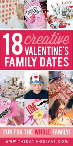 Valentine's ideas for the WHOLE family! Can't wait to try out some of these ideas this year!!!