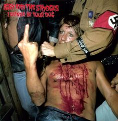 """post-punker: """" Cover of I Wanna Be Your Dog, by The Stooges """" Iggy Pop, Photo Rock, Iggy And The Stooges, Classic Rock And Roll, Movie Blog, Pop Bands, My People, Punk Rock, Album Covers"""