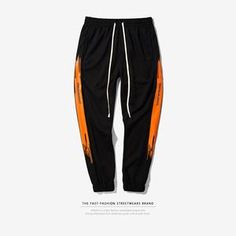 49aa27001 INFLATION Men Occident Retro Hip Hop Trousers Urban School Style Sweatpants  Side Stripe Track Pants Unisex Casual Pants 356W17