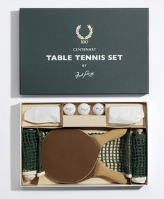 FRED PERRY Table Tennis Set
