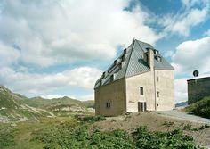 Miller & Maranta, Ruedi Walti · Renovation and Extention Old Hospice St.Gotthard · Divisare