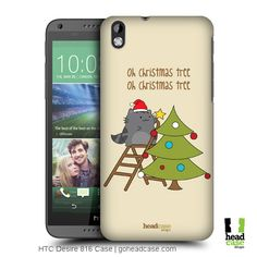 Head Case Designs Oh Christmas Tree Wilbur's Christmas Back Case for HTC Desire 816 Christmas Design, Christmas Tree, Create Your Own, Smartphone, Cover, Ideas, Christmas Drawing, Teal Christmas Tree, Xmas Trees