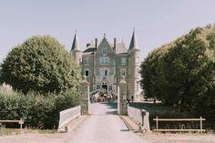 Una boda en Chateau de la Motte Husson, Francia © Mira al pajarito y Sara Cuadrado