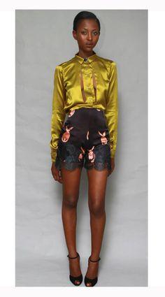 Maki Oh Fall 2012 Collection By Nigerian Fashion Designer Amaka Osakwe Debuts (PHOTOS)