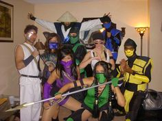 #mortalcombat #halloween #costumes