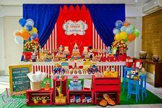 decoração circo vintage rosa - Pesquisa Google