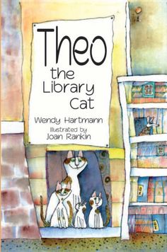 Theo the Library Cat