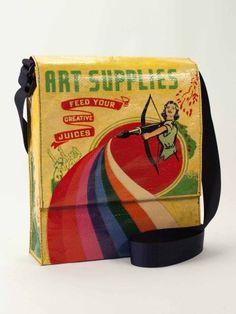 Art Supplies- Messenger Bag | Donna Downey Studios Inc