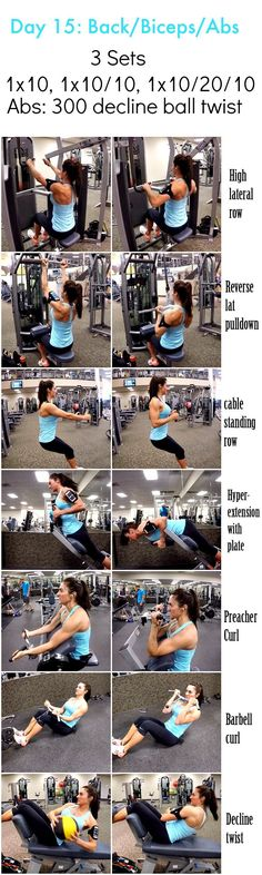 The secret to building sexier biceps for women and men 28 Days 2 Shred: Day Shred Workout, Biceps Workout, Workout Challenge, Gym Workouts, Week Workout, Workout Ideas, Workout Fitness, 28 Day Shred, Crossfit