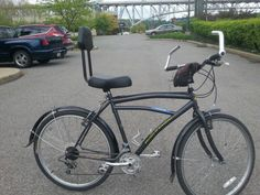 Back problems? This bike was designed for that. Waterfront Bike Rental has a bike fur everyone.