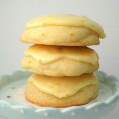 Orange Zested Cookies With Sweet Orange Glaze @keyingredient