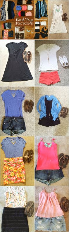 Exploring My Style: Road Trip Outfits.  How to Pack for a Long Road Trip, How to…