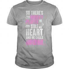 Hockey Player T Shirt - Women's T-Shirt by American Apparel
