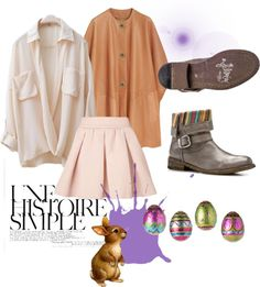 """Happy Easter - Felmini"" by ana-felmini on Polyvore"