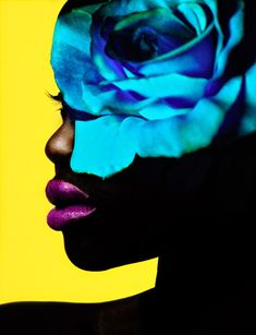 Photographer Jamie Nelson & Model Ataui Deng Create Saturated BeautyMagnificence