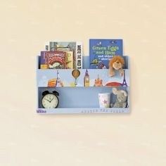 Amazon.com: Tidy Books Bunk Bed Shelf, Blue: Baby