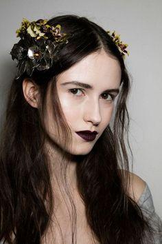 Makeup Trend: dark lipstick for Fall Winter 2016-2017   The Blonde Salad   Bloglovin'