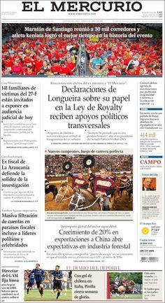 #20160404 #LATINOAMERICA #LatinAmerica #LatinoaméricaPORTADASdePRENSAdeHOY20160404 Lunes 04 ABR 2016 http://en.kiosko.net/iba/2016-04-04/ + #ELMERCURIOdiarioCHILE20160404 #CHILE http://en.kiosko.net/cl/2016-04-04/np/cl_mercurio.html