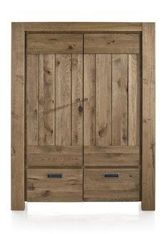 Armoire Santorini 2 portes + 2 tiroirs - HetH