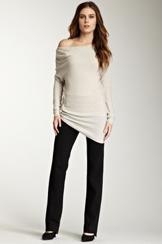 Elie Tahari Devanna Off-The-Shoulder Sweater