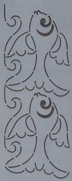 """Fish 4"""" - The Stencil Company"""