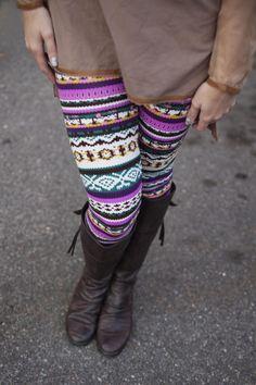 Nine styles of print leggings.  Only $9.99!