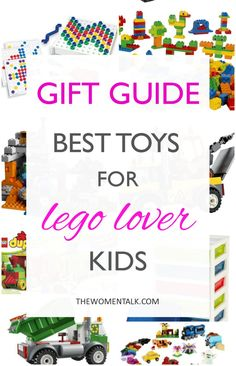 Holiday Gift Guide: Best Toys for Lego Lover Kids