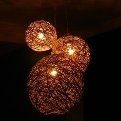10+1 Ideias de Luminárias rústicas artesanais