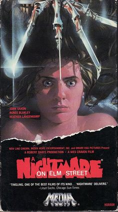 """A Nightmare on Elm Street""  1984  Wes Craven  Horror / Slasher Film / Teen Movie"
