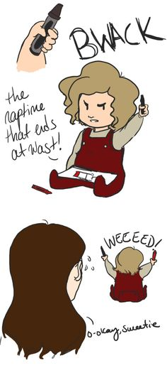 Awww Baby Enjolras!!!! (He's saying red not weed. Don't worry- I thought that too.)