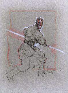 Star Wars Darth, Darth Maul, Pencil Drawing Inspiration, Drawing Stars, Star Wars Poster, Cool Artwork, Art Drawings, Character Design, Sketches