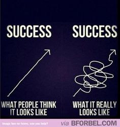 The truth about Success. I swear it feels like we'll never get there...but it's getting better.