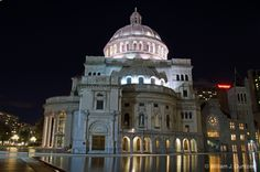 Christian Science Center, Downtown Boston