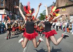 Scotland's Mardi Gras at the West End Festival back on Byres Rd, Glasgow #wef13 #paradeday