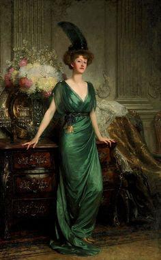 Gods and Foolish Grandeur: Les dames en vert