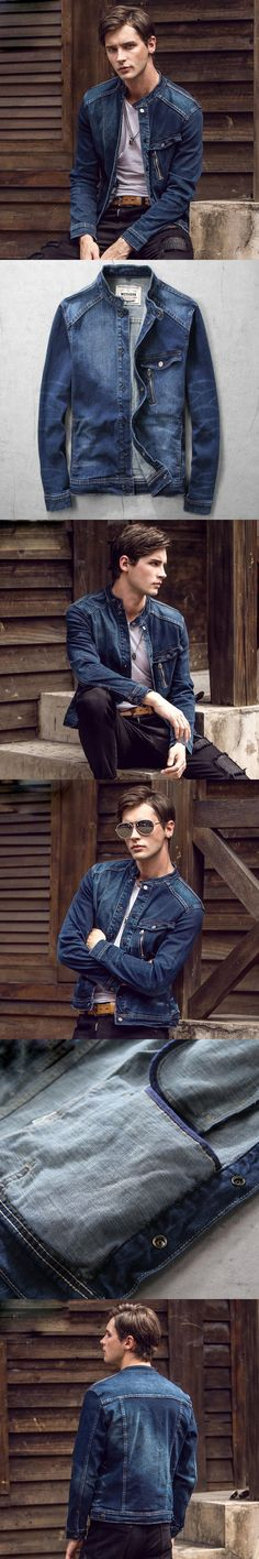 New Mens Denim Jacket Coat Men Outwear Casual Jeans Jacket And Coats Fashion Design Spring Autumn Male Clothing 3Xl Ma347